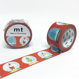 Mt and paper tape 2016 Christmas [Christmas Snow Ball (MTCMAS69)] finished production
