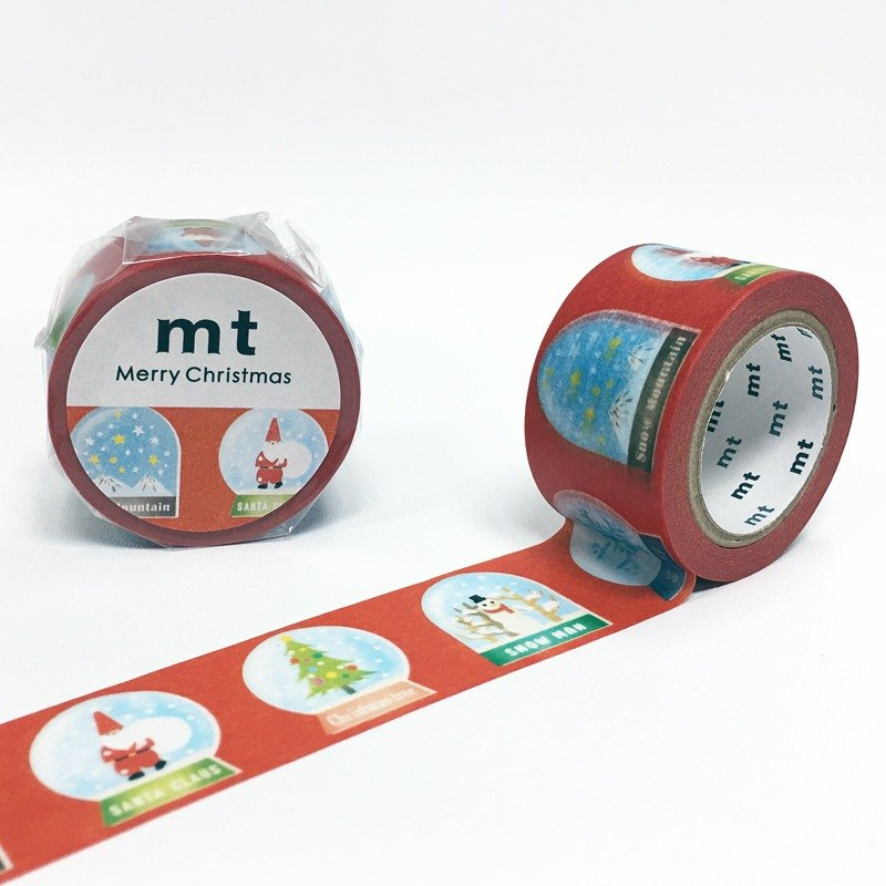 Mt and paper tape Christmas [Christmas Snow Ball (MTCMAS69)] finished production