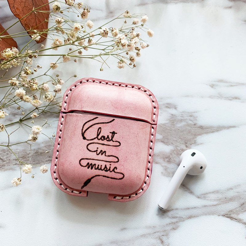 mum and I handmade - ปกหนัง AirPods  - lost in music