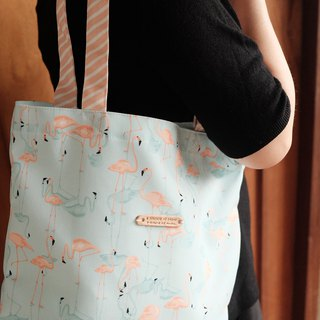 Tote bag : INNOCENT FLAMINGO