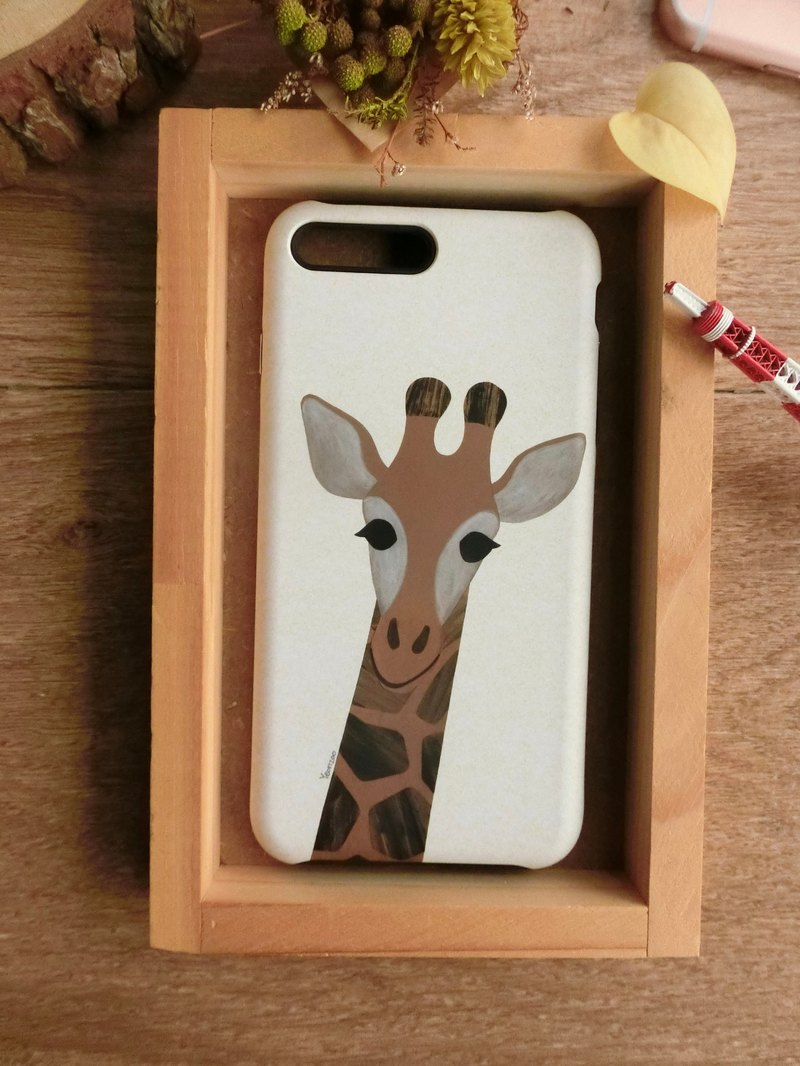"""Giraffe / Me"" / exclusive high-grade double anti-scratch DROP BUMPER CASE [APPLE iPhone full range / Samsung NOTE.S Series / LG G Series]"