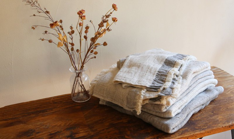 Earth Tree Fair Trade fair trade -- Organic cotton wash towel made in Japan