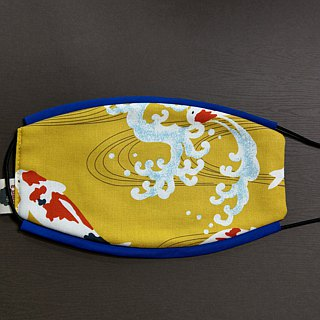 Year of the Chinese handmade fish limited edition masks comfort / breathable / washable