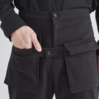 8 lie down . Front pocket trousers
