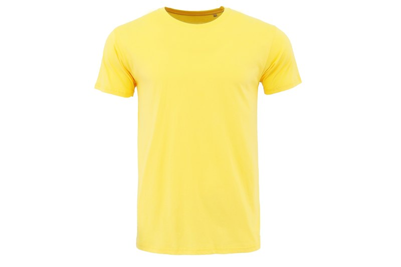 Tools Super textured cotton Tee Yellow:: Male and female size complete:: Soft:: Breathable:: Comfortable