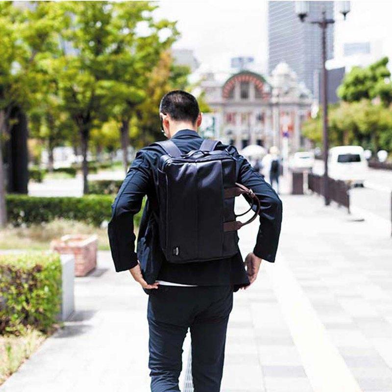 日本高抗水尼龍商務電腦三用包 Made in Japan by WONDER BAGGAGE