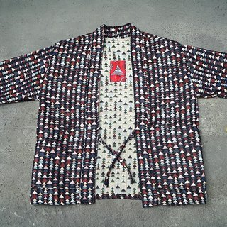 AMIN'S SHINY WORLD handmade custom KIMONO full version of the triangle national blouse coat jacket