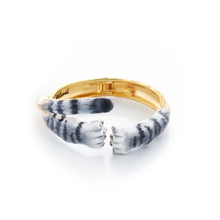 Snow Mountain Baby Tiger Bangle