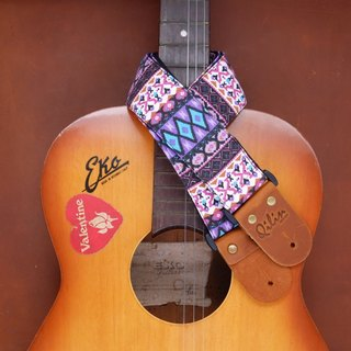 Purple Retro Guitarstrap