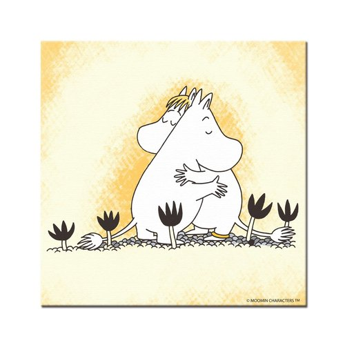 Moomin Moomin authorization - Picture frame 40 * 40cm: [] nice to have you