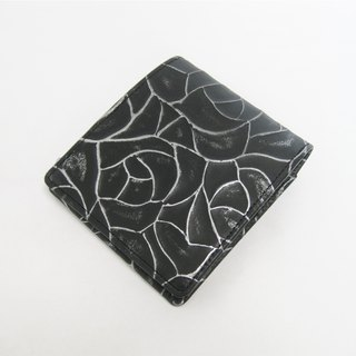 """Metal"" Wallet ROSE Bi-fold wallet"