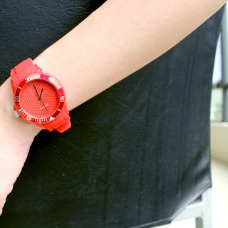 【PICONO】Escape of Numbers Sport Watch - Red / BA-EN-02