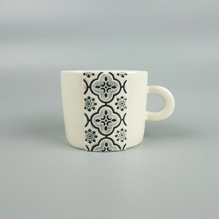 Window Flower Series - Window Mug (Black)