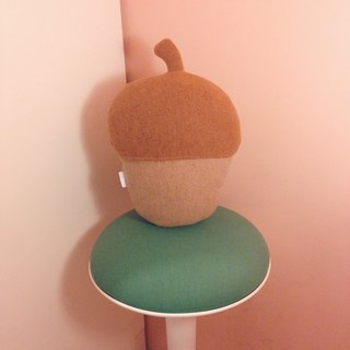 Acorn pillow / Handmade cushion - LOVE NUTS