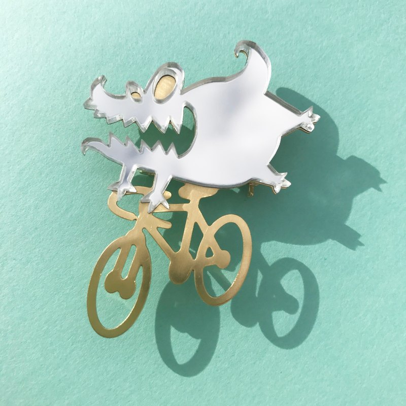 Etxebarria riding monster - Silver & Gold -