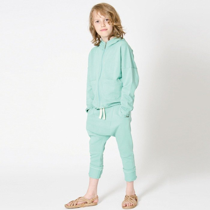 [Swedish children's clothing] children's organic cotton flying trousers trousers