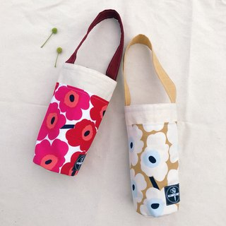 Kettle bag / mini poppies