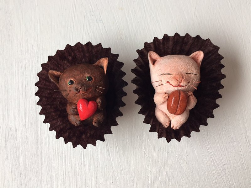 Cats like chocolate