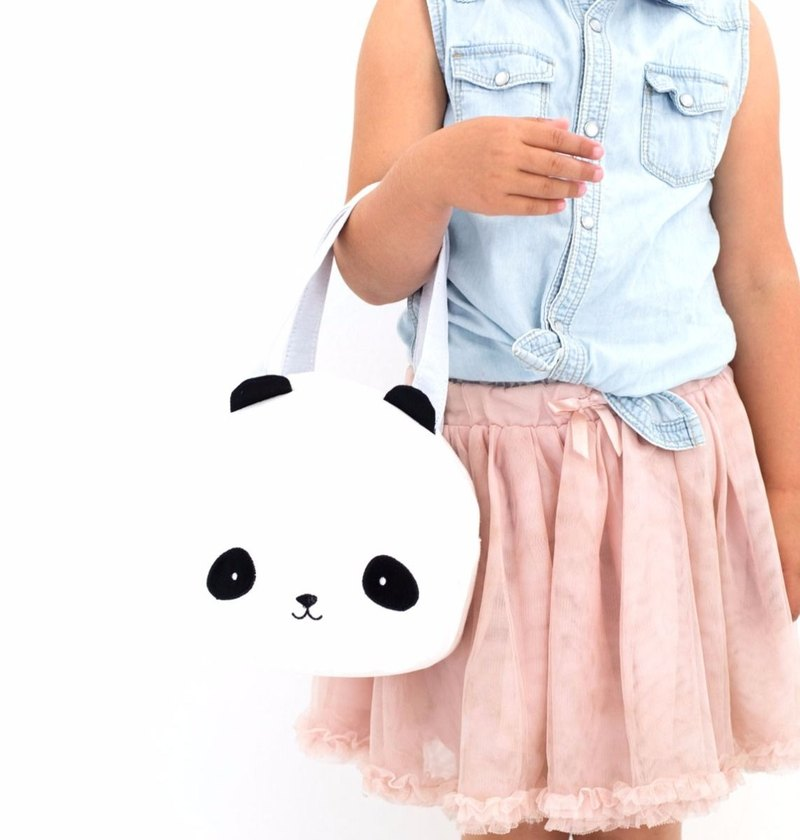 [Out of print sale] Netherlands a Little Lovely Company – cool black panda small bag
