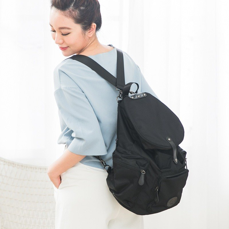 [After Love Pack Plus] - Candied Black Mom Bag / Backpack / Full Moon Gift Preferred