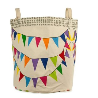 Canadian fluf organic cotton portable storage dual-use bag - joy party (large)