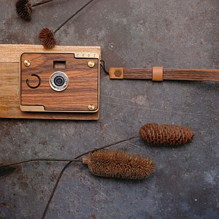 CROZ Wooden leather strap