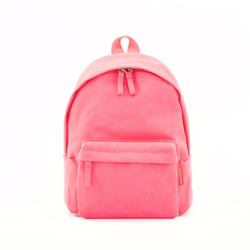 Waterproof Heavy Canvas Backpack ( Mini, A4 ) / Red / for both adults and kids