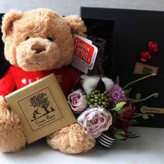 Bear My Love 熊仔套裝 I Love you衫仔熊
