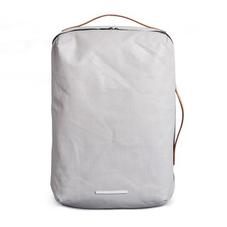 Canvas Series -15 吋 Three-use classic back backpack (back / hand / shoulder) - rice ash - RBP170GY