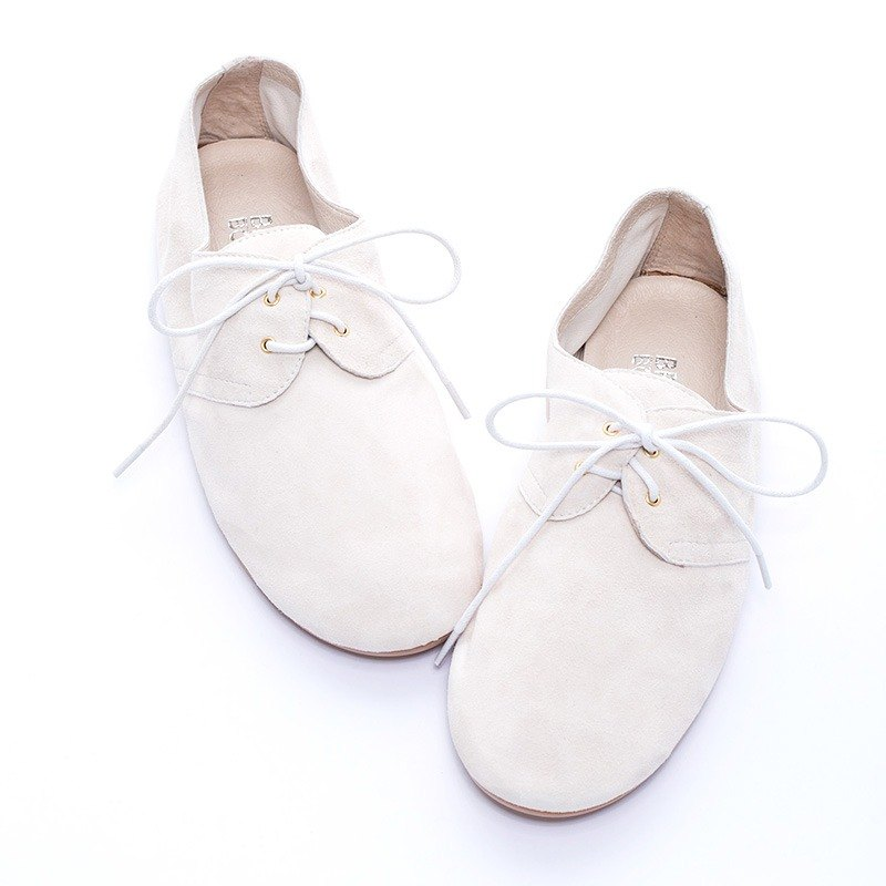 [BREAKING BOUNDARIES] plain classic puppet shoes - beige - 20170108