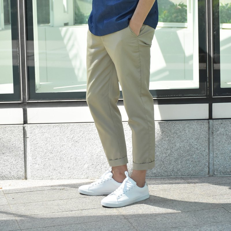 Slim-fit Ankle-length Trousers
