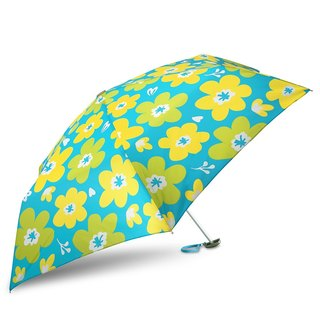 Ultra Lightweight Manual Compact Umbrella - Flora