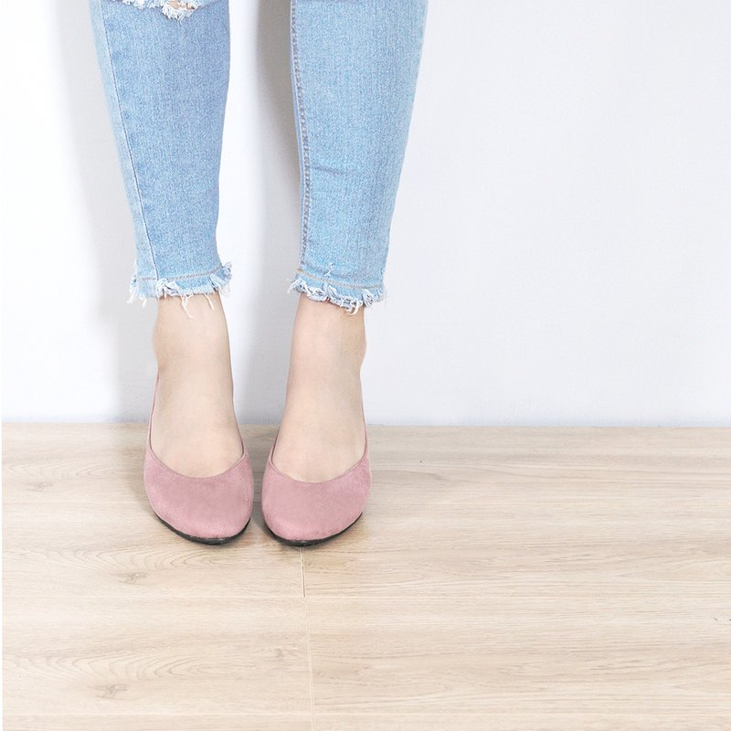 WL AKi Wild (藕粉) Sweet Lilac Low Heels/Spring is coming