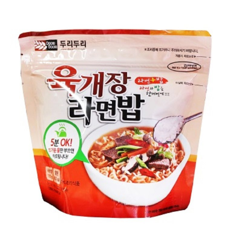 [DOORI DOORI] Rice & Noodles - Korean Miso Soup Flavor (105g/Pack)