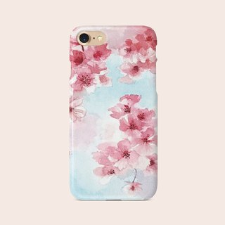 "Phone Case ""Cherry Blossom 1"" design by Little 149 A006CC002"