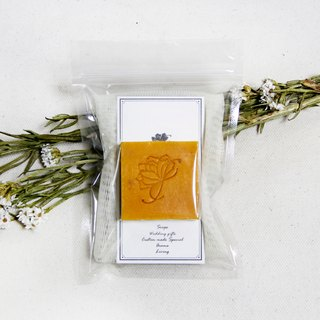 Gardenia Jasmine Soap 28g + Blister Bag