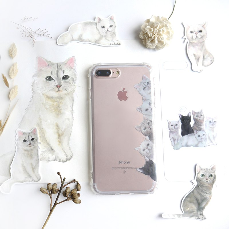 | To map custom | like painted pet portrait watercolor hand-painted customized | anti-fall mobile phone shell