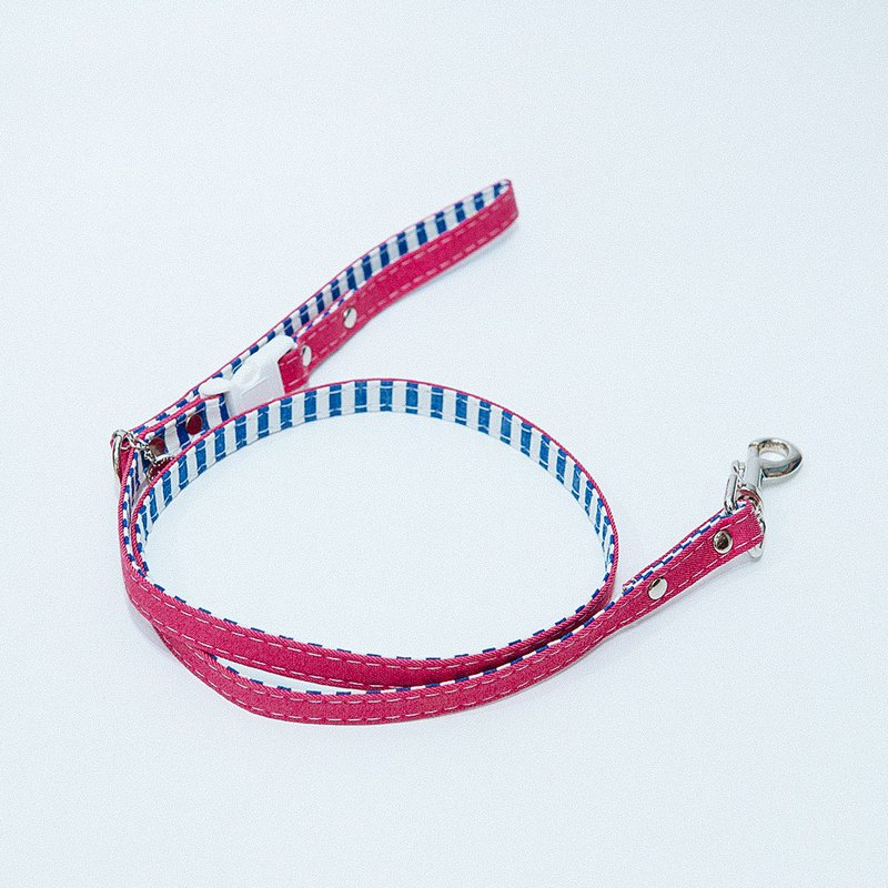 【MOMOJI】Pet Leash - Marion (Fuchsia)