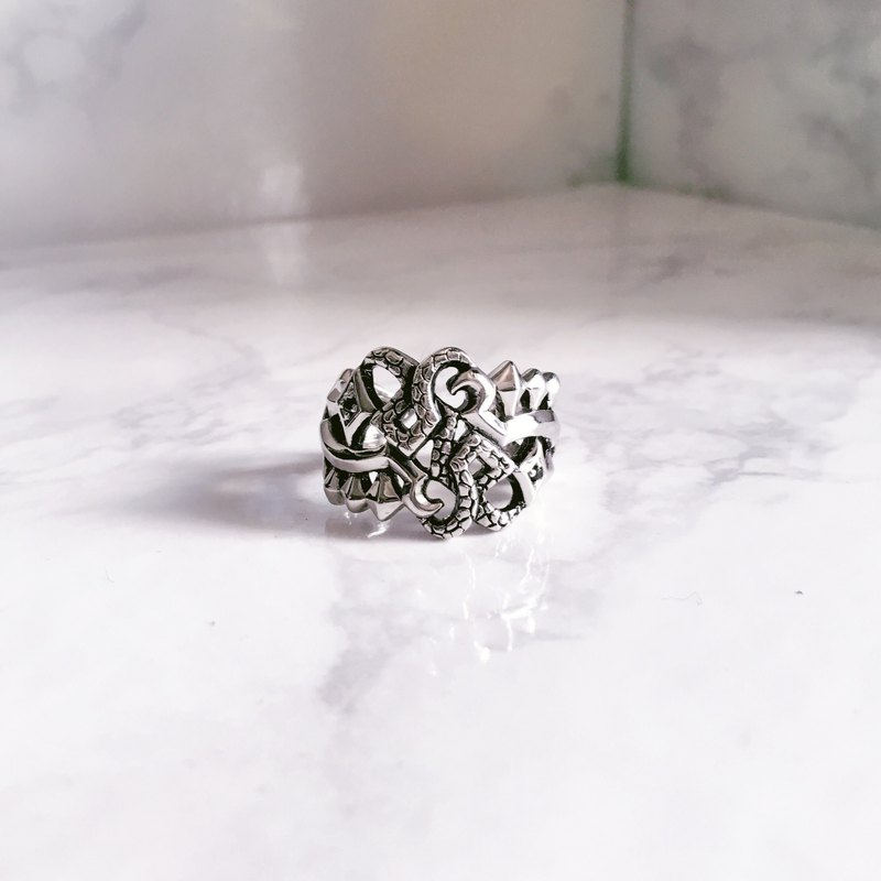 HADES ring,God of Underworld,God ring,OLYMPUS collection