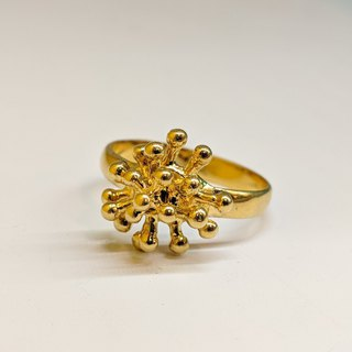 Vintage Gold-plated Ring from Pairs