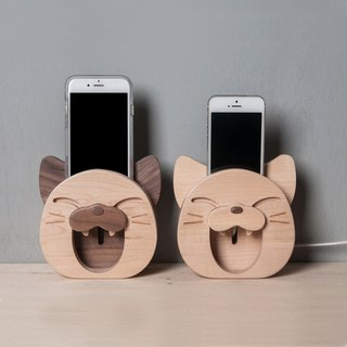 Wooden Speaker- Smiling Cat