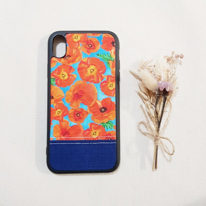 [Poppy flower] Iphone7P 8P/X XS/XS MAX/XR/SAMSUNG mobile phone case