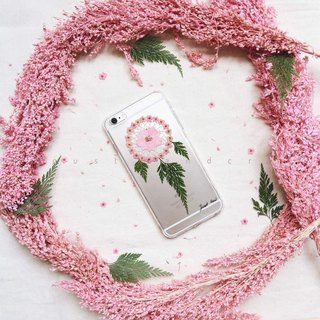 Dream Catcher Phone Case • Handpressed Flower