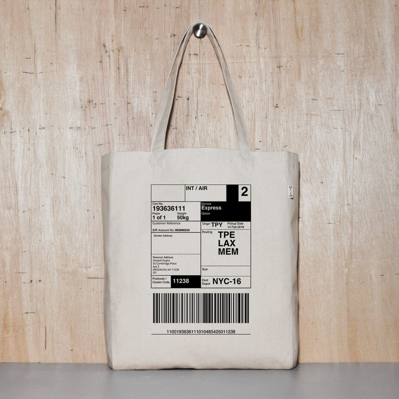 Send yourself to New York Graduation Gift Travel Shopping Bag Eco Bag