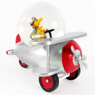 Snoopy handmade sculpture / water polo - Woodstock car [Hallmark Snoopy handmade sculpture]