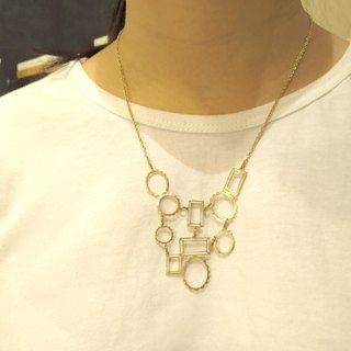 Necklace big frame