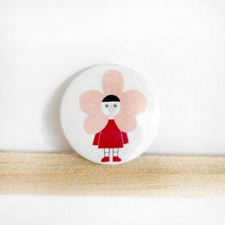 Armpit hair flower / badge