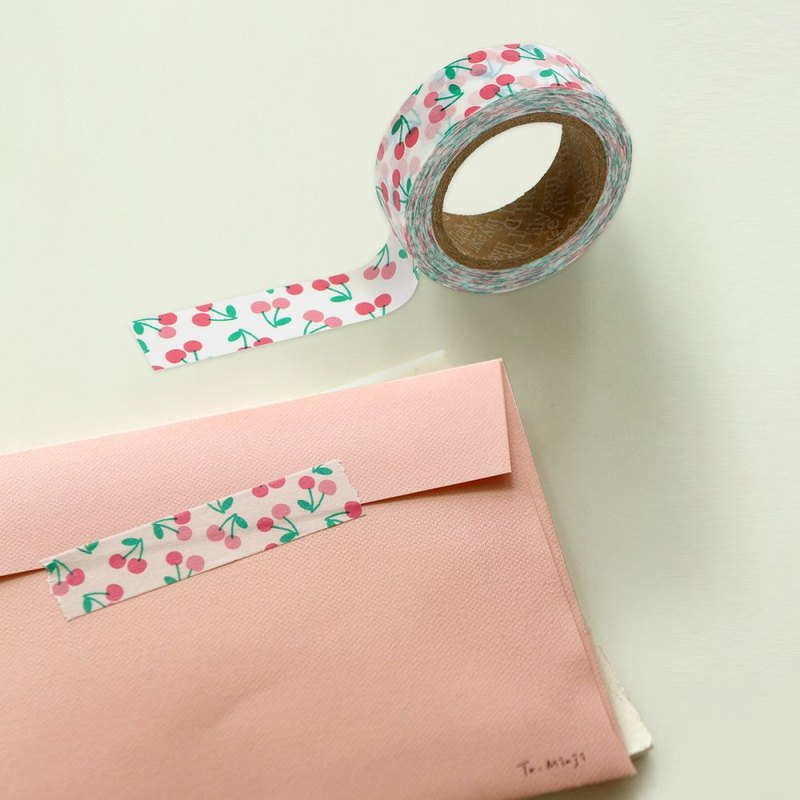 Single roll of paper tape - 137 sweet cherry, E2D18498