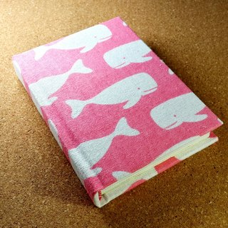 IVxVI series [Pink World of Whales] 4X6 Miles Handmade Hardcover