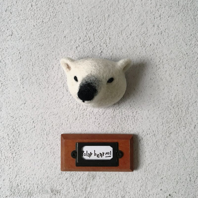 White Bear NO.1 • Pin